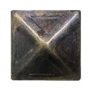 Decorative Nails-BR570 Bronze Ren. Square Pyramid (In Stock)*