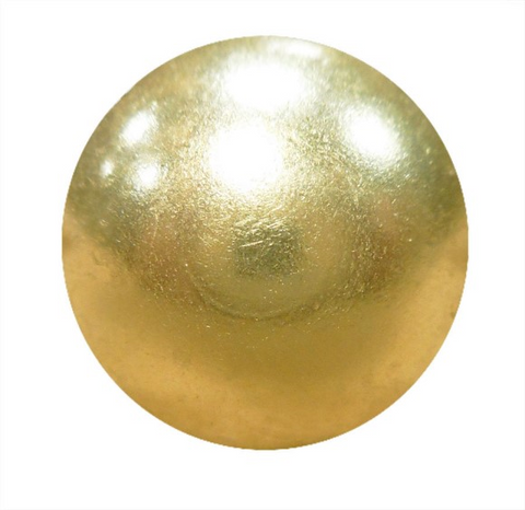 BS156 Brass Plated Low Dome