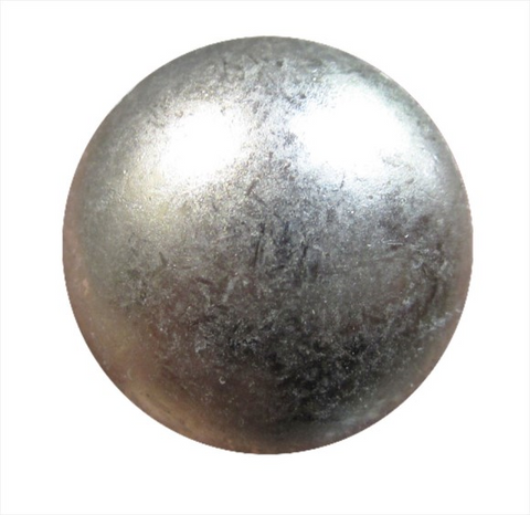 Decorative Nails-PM54 Glazed Pewter Low Dome (In Stock)*