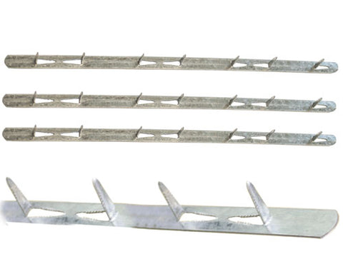 Tack Strip, Punched Metal