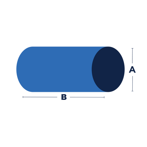 Foam - Cylinder Shape**
