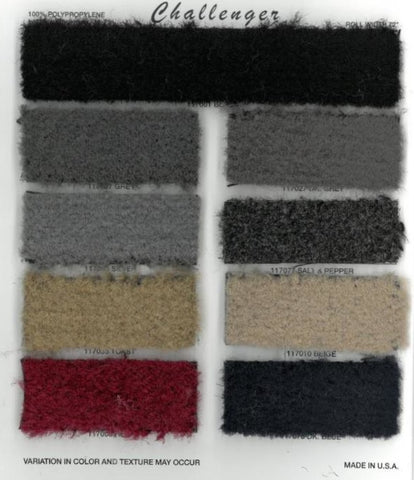 "Dorsett Challenger Automotive Carpet 72"" (117000 Series)"