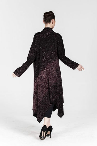 Aku Long Cardigan in Shimmer