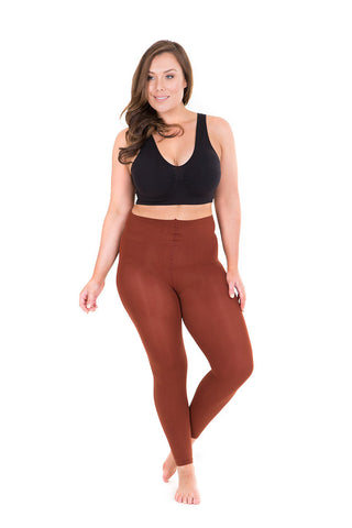 Sonsee plus size 100den hocolate thick leggings tights