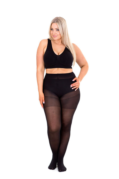 Plus size 60den opaque tights Sonsee