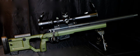 "DPR ""PHAT BOY"" Custom Short Action Rifle - 1000yardhunter.com"