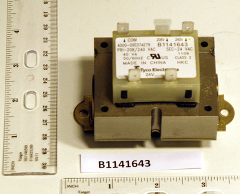Goodman 0130M00138S 40VA Transformer, 208/240V Primary, 24V Secondary