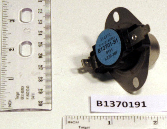 Goodman B1370191 220°F Primary Limit Switch-HVAC Parts Outlet