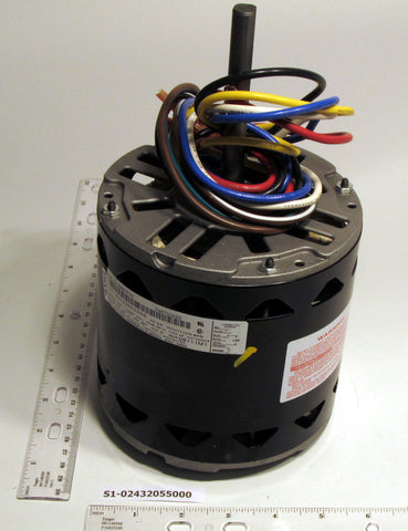 York S1-02436270000 1110/4 CCW Blower Motor (3/4 HP, 115V)-HVAC Parts Outlet