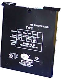 Fireye Controls Ultraviolet amplifier, use with UV1 or 45UV3 EUV1-HVAC Parts Outlet