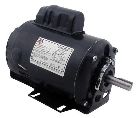 Rheem Blower Motor - 1 hp 120-208-230/1/60 (3450 rpm/1 speed) 51-40638-01-HVAC Parts Outlet