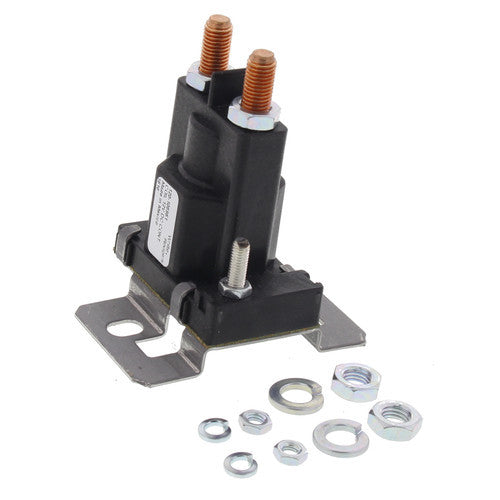 White Rodgers Solenoid w/ Normally Open Continuous Contact Rating 100 Amps (12 VDC Grounded Coil) 120-105851-HVAC Parts Outlet