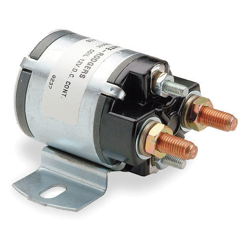 White Rodgers Solenoid Continuous Duty, Normally Open Continuous Contact Rating 100 Amps (36 VDC Isolated Coil) 124-117111