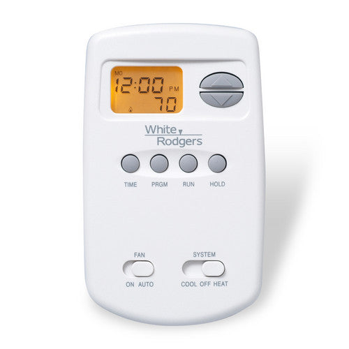 White Rodgers 70 Series Programmable, 1H/1C, Digital Vertical Thermostat 1E78-151-HVAC Parts Outlet