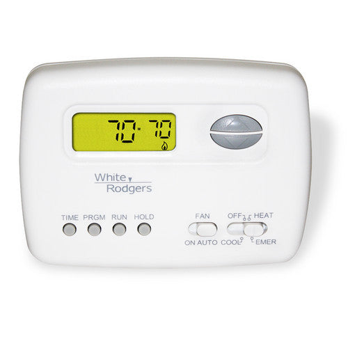 White Rodgers 5+2 Day Programmable Thermostat, 24 Volts, Horizontal 1F72-151-HVAC Parts Outlet