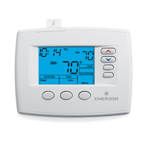 White Rodgers Emerson Blue 7-Day 3H/2C Programmable Thermostat 1F85-0477