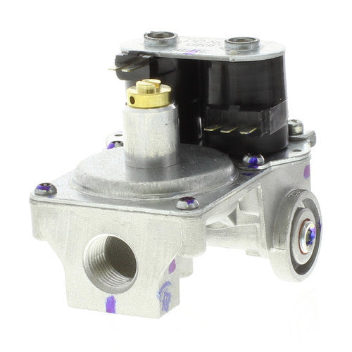 White Rodgers 25M01A Gas Dryer Valve (Universal Right Angle Left Application) 25M01A-100-HVAC Parts Outlet