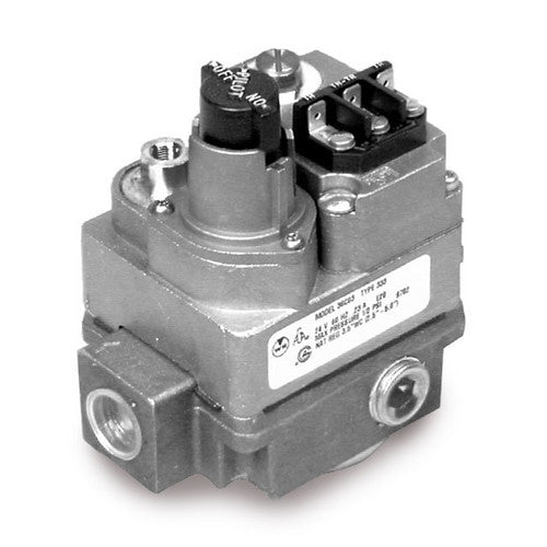 "White Rodgers 1/2"" X 3/4"" Gas Valve, 24 VAC, Side Outlets Tapped And Plugged 36C03-333-HVAC Parts Outlet"