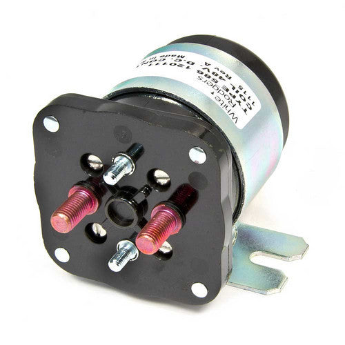 White Rodgers Solenoid, SPNO, 48 VDC Isolated Coil, Normally Open Continuous Contact Rating 200 Amps, Inrush 600 Amps 586-120111