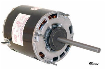 AO Smith 9642 Direct Drive Blower Motor, 1/5 HP, 1075 RPM, 5.0 DIA, Open Air Over, 115V-HVAC Parts Outlet