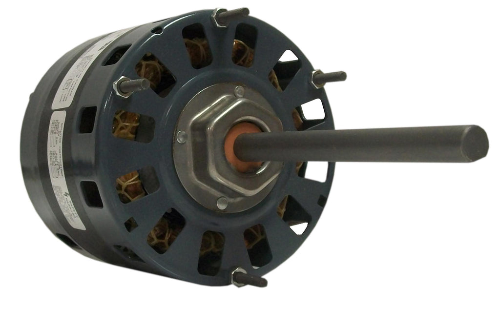 Fasco D150 , Direct Drive Blower Motor, 1/4, 1/5, 1/6 HP, 1050 RPM, 5.0 DIA, Open, 115V-HVAC Parts Outlet