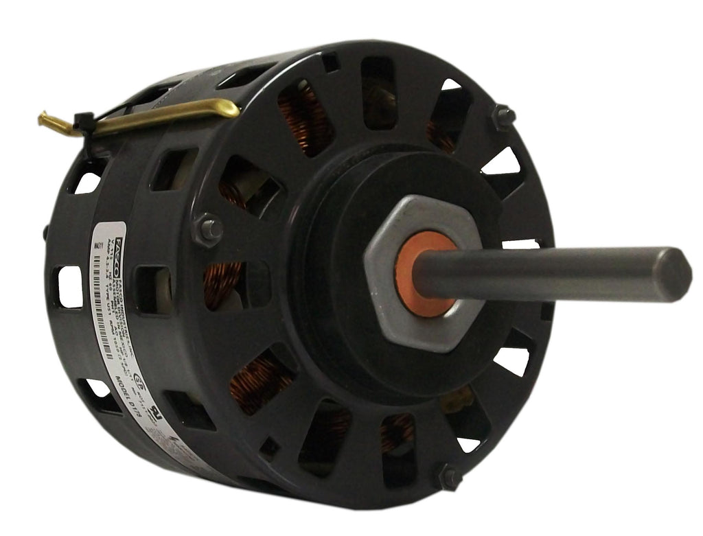 Fasco D164 , Direct Drive Blower Motor, 1/6, 1/8, 1/10, 1/12 HP, 1050 RPM, 5.0 DIA, Open, 115V-HVAC Parts Outlet