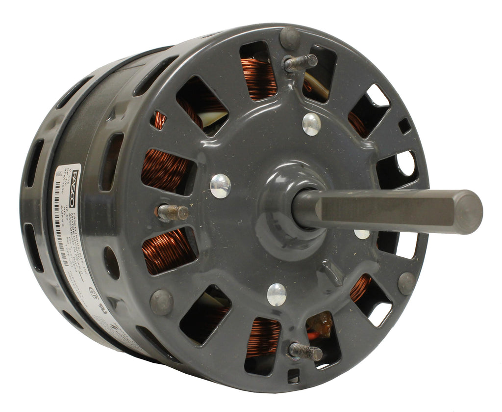 Fasco D240 , Direct Drive Blower Motor, 1/6 HP, 1050 RPM, 5.0 DIA, Open, 115V-HVAC Parts Outlet
