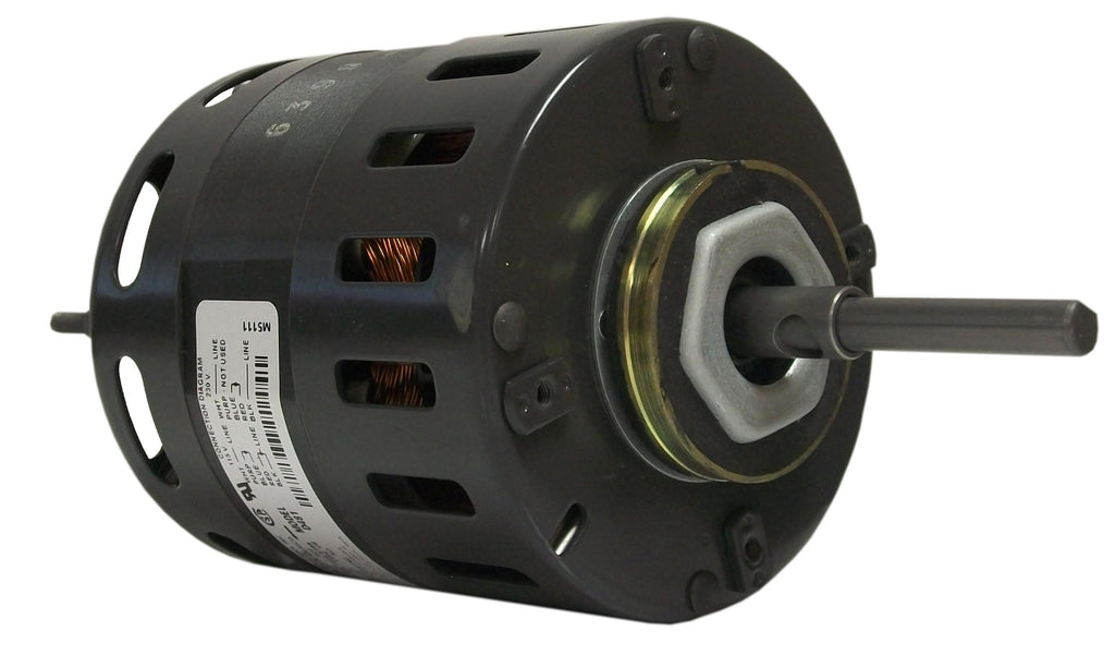 Fasco D480 , Direct Drive Blower Motor, 1/10 HP, 1550 RPM, 4.4 DIA, Open, 115, 208-230V-HVAC Parts Outlet