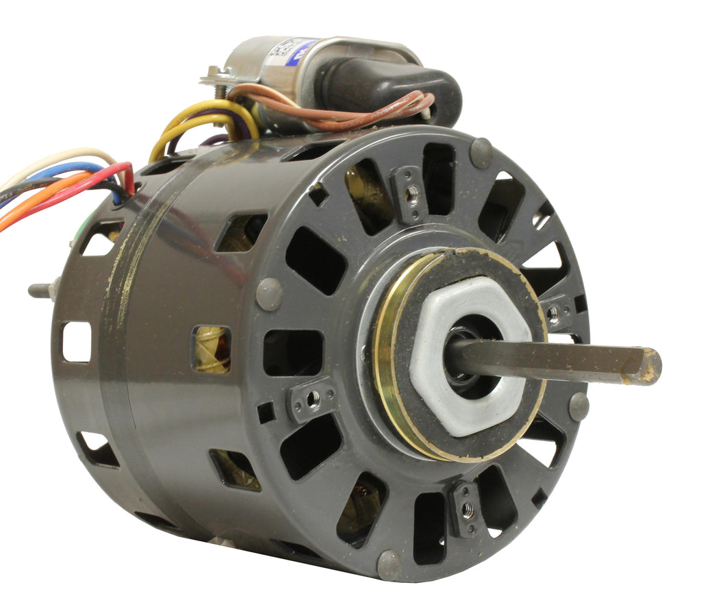 Fasco D486 , Direct Drive Blower Motor, 1/10 HP, 1550 RPM, 5.0 DIA, Open Fan Cooled, 115, 208-230V-HVAC Parts Outlet