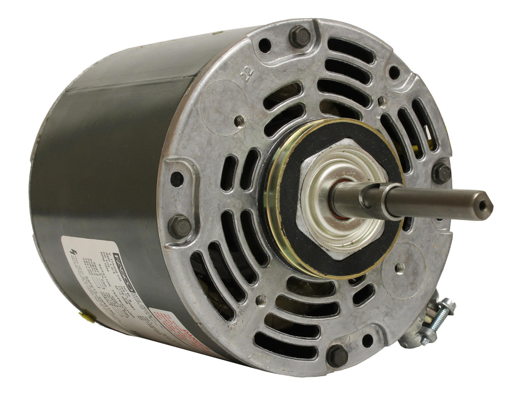 Fasco D489 , Direct Drive Blower Motor, 1/15 HP, 1550 RPM, 5.0 DIA, Open Air Over, 115, 208-230V-HVAC Parts Outlet