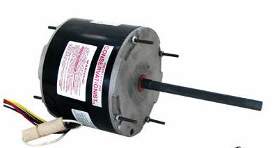 AO Smith Master Fit Condenser Motor 1/4-1/2 HP 1075 RPM 2 Speed 208/230v FE6002F-HVAC Parts Outlet