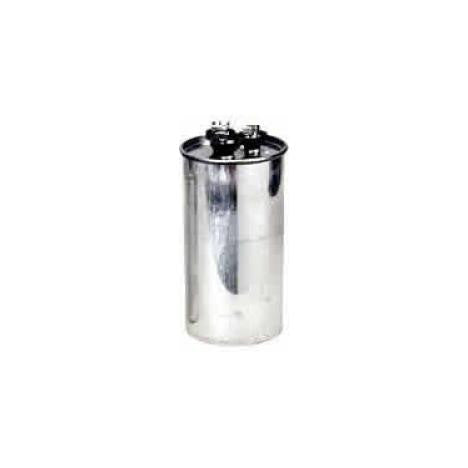 60/10 mfd 440v Round Dual Run Capacitor CPD6010440