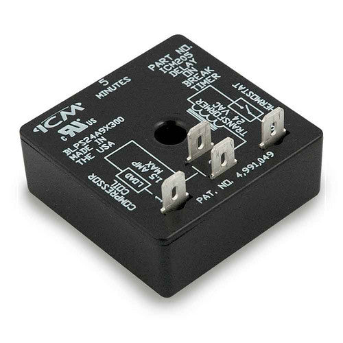 ICM205 Delay on Break Timer (5 Minute Fixed Delay)-HVAC Parts Outlet