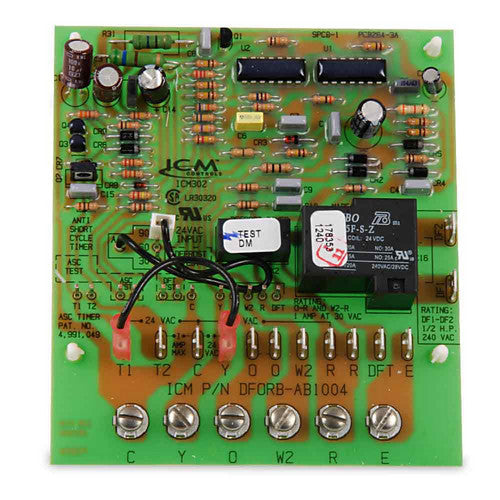 ICM302 Defrost Timer With High Power SPST Fan Relay Output-HVAC Parts Outlet