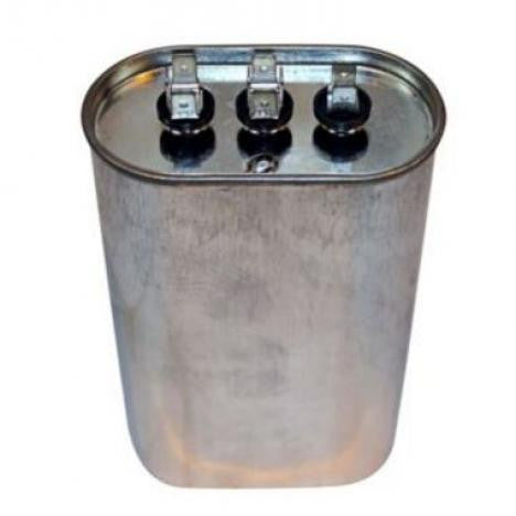 Carrier 5 uf 370 Volt Oval Run Capacitor P291-0503