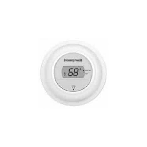 Honeywell Premier White One Stage Digital Round Thermostat T8775A1009-HVAC Parts Outlet