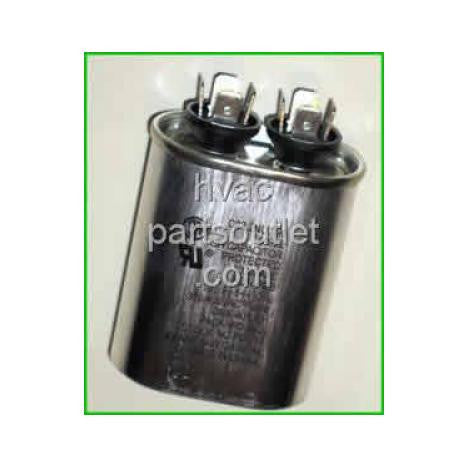 3 uf 370 Volt Oval Run Capacitor-HVAC Parts Outlet