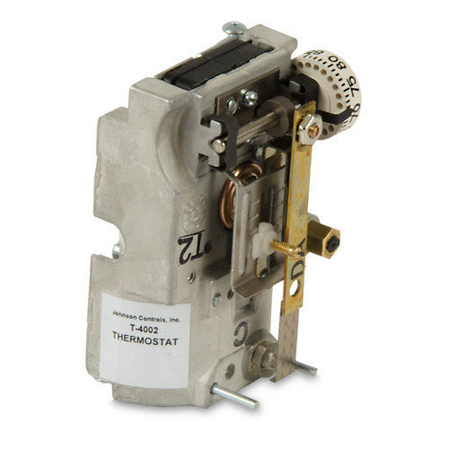 Johnson Controls T4002202 Pneumatic Thermostat, Ra, Horz-HVAC Parts Outlet