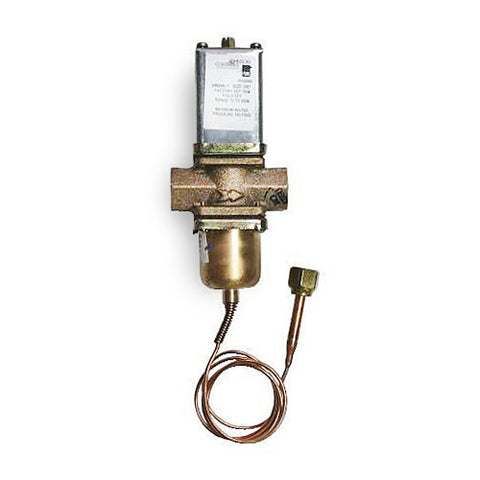 "Johnson Controls 1-1/4"" V46 Series Pressure Actuated Water-Regulating Valve (70-260 PSI) V46AE-1C"