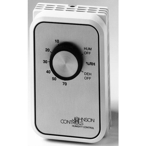 Johnson Controls SPDT Humidity Control, Range 0 to 70% (120/208/240V) W43A-14C