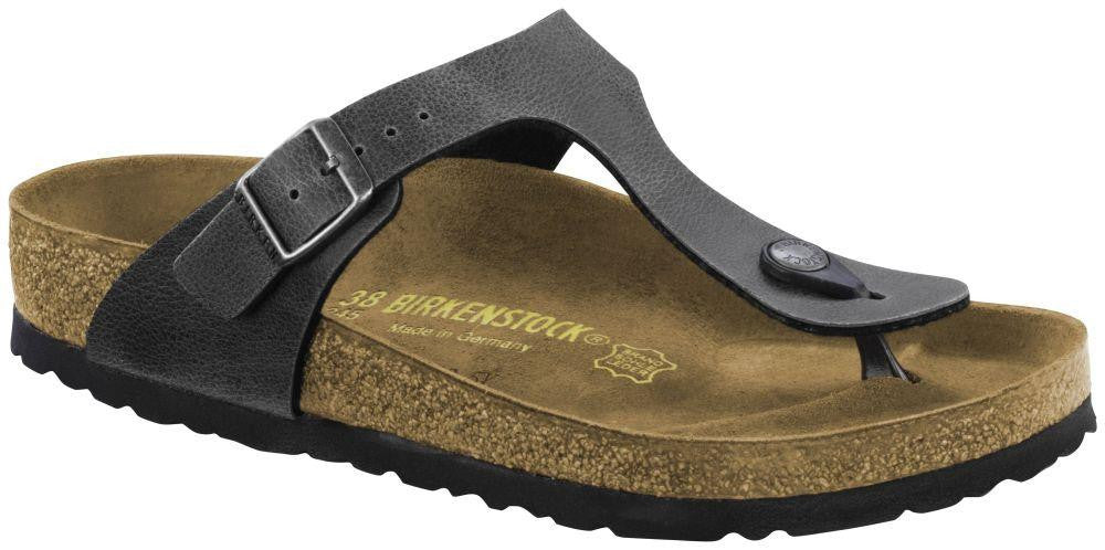 Birkenstock Gizeh BF Pull Up Anthracite