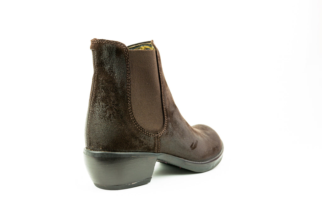 Make Brown Ankle Boot - Walk Shoes