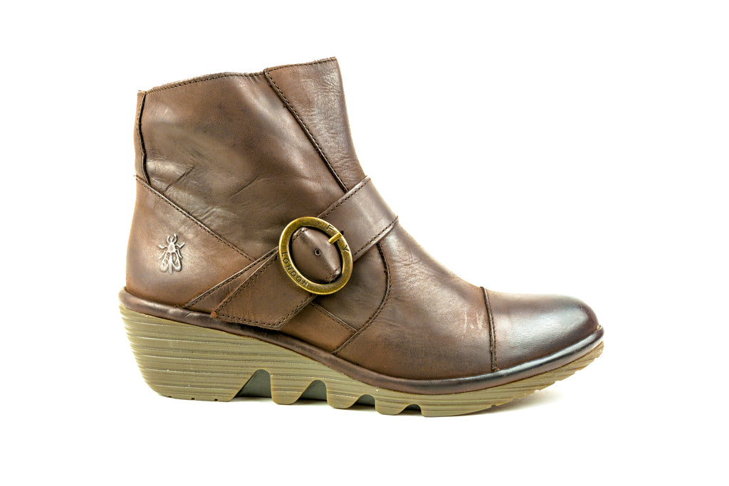 Pais655Fly Brown Ankle Boot - Walk Shoes