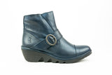 Pais655Fly Blue Ankle Boot - Walk Shoes