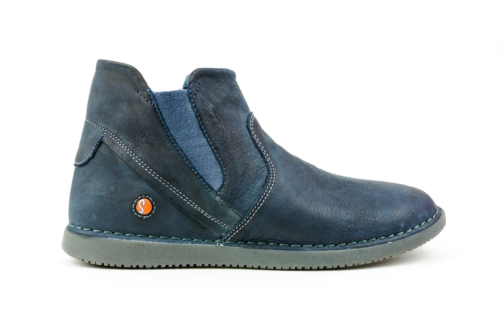 Tep413Sof Navy Ankle Boot - Walk Shoes