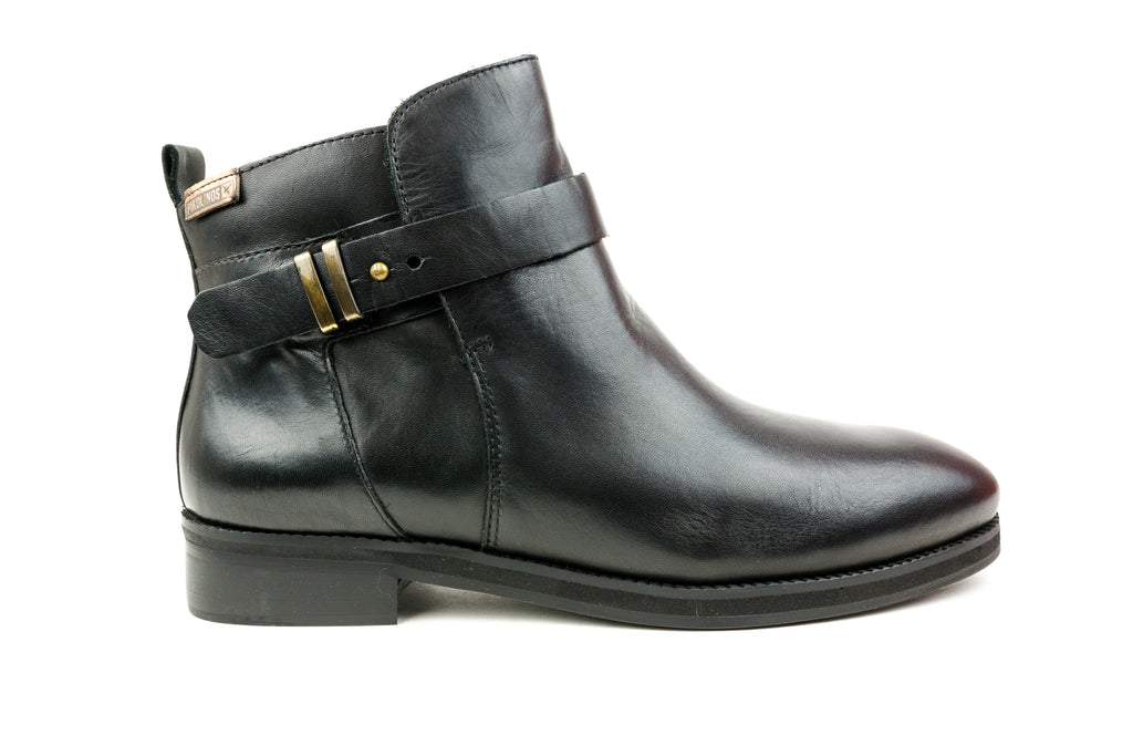 Royal Black Ankle Boot