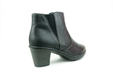 54990-00 Black Ankle Boot - Walk Shoes