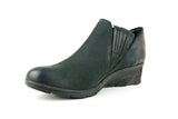 Mandarin Nero Ankle Boot - Walk Shoes