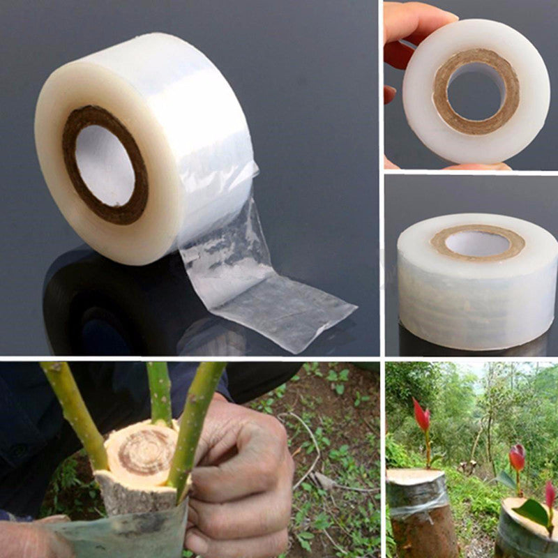 100m Flower Nursery Grafting Tape Self-adhesive BIO-degradable Tapes For Garden Tool