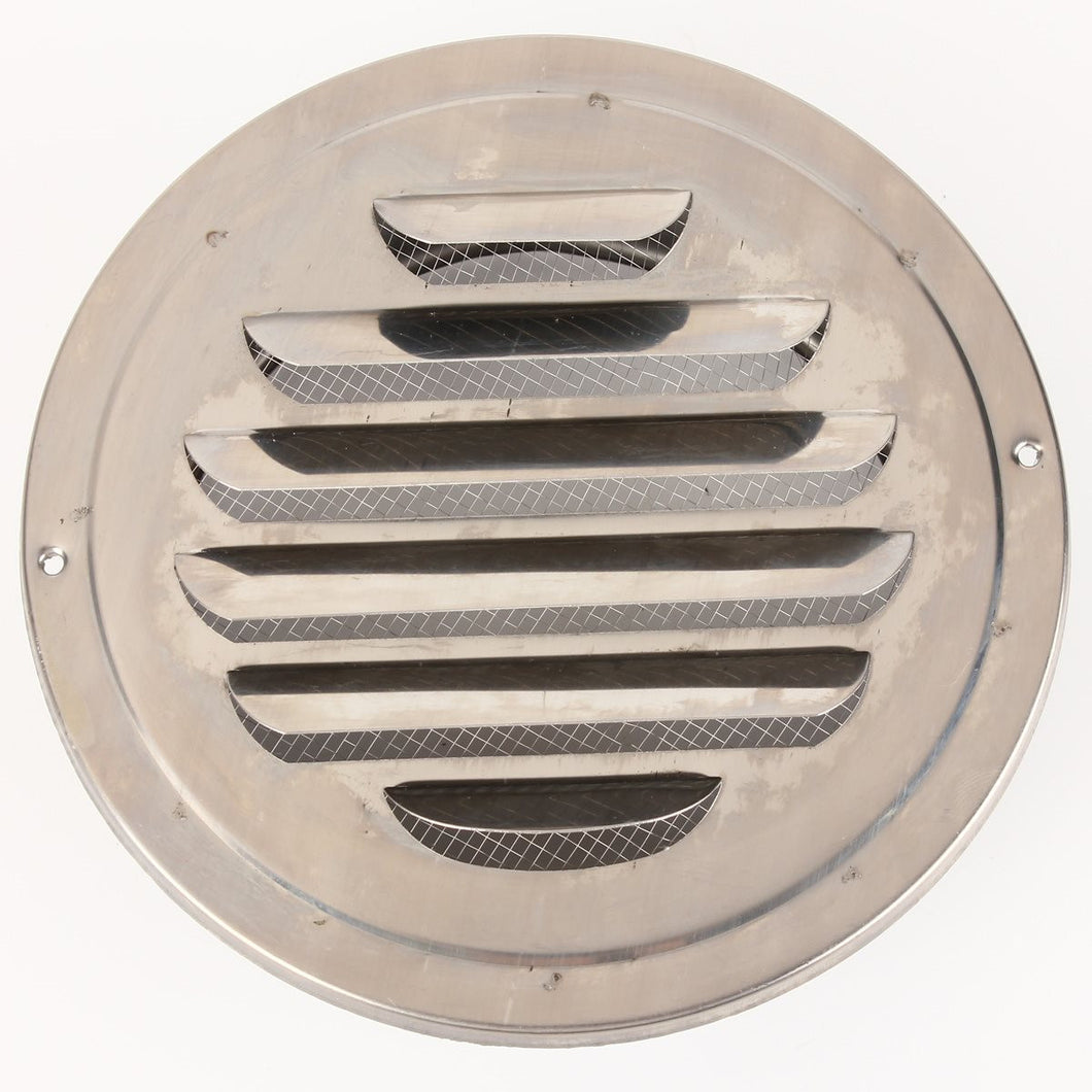 Metal Circle Air Vent Grille Round Ducting Ventilation Cover Ceiling Wall